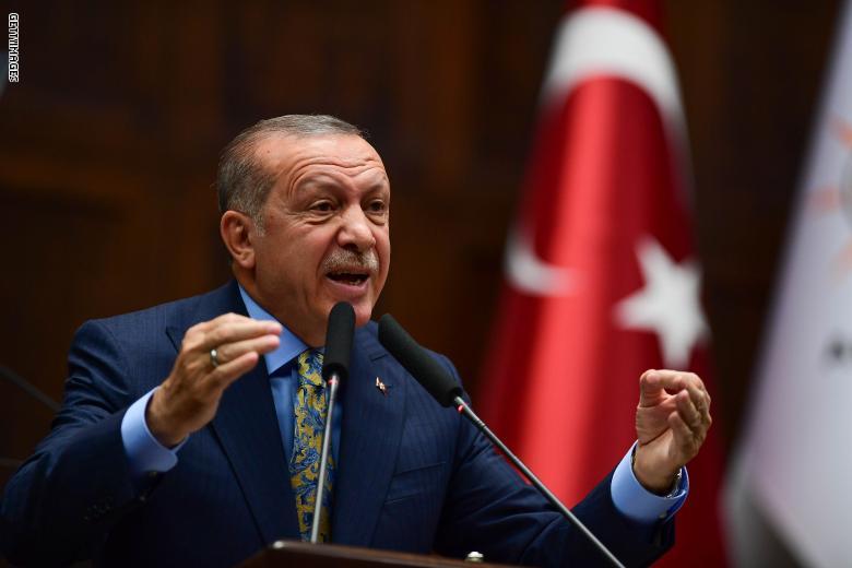 أردوغان يهدد بضرب الأكراد في حالة عدم قيام روسيا بتنفيذ الاتفاق بينهما