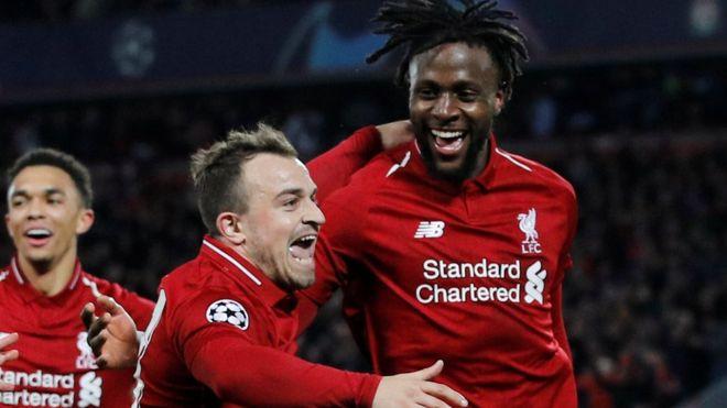 ليفربول يفوز على جنك وينتزع صدارة المجموعة الخامسة في دوري أبطال أوروبا